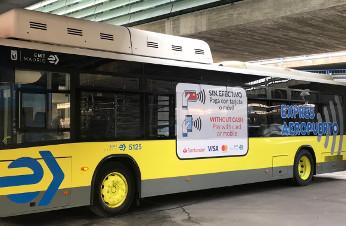 Los autobuses de EMT Madrid se suben al carro del pago móvil.
