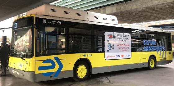 Los autobuses de EMT de Madrid se suben al carro del pago móvil.