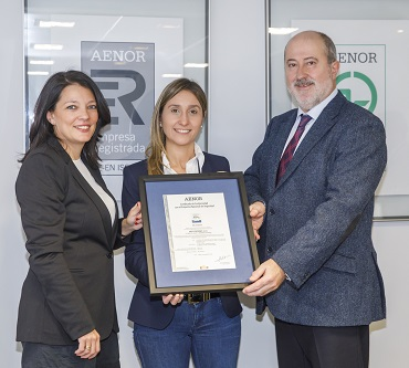 certificación AENOR y Arsys
