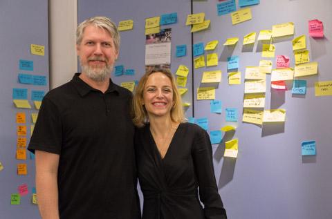 Alexander Grots e Yvonne Martin