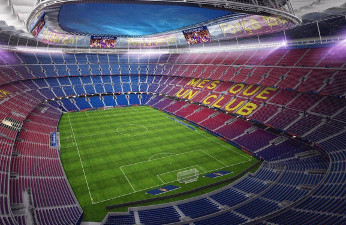 Camp Nou, primer estadio de Europa con cobertura 5G.