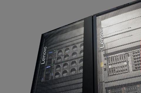 Servidores de Lenovo para el centro de datos.