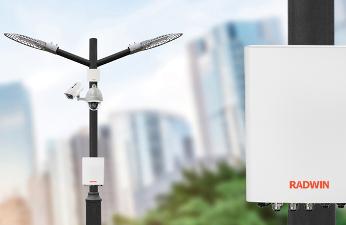 Radwin Smart-Node: energía y conectividad para ciudades inteligentes.