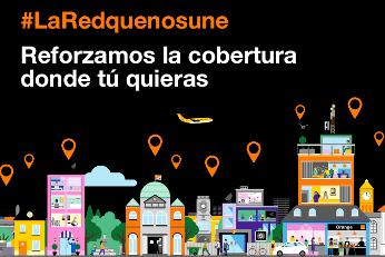 Orange ampliará la cobertura 4G de la zona de España elegida por los clientes.
