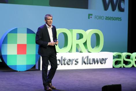 Josep Aragonés, en un evento de Wolters Kluwer.