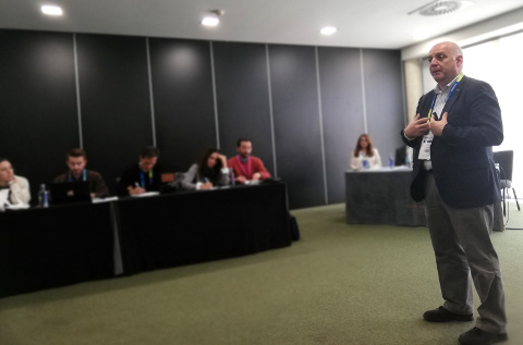 Pauli Amat, country manager de Tech Data, en el Metic 2019.