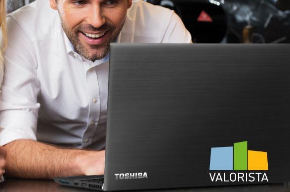 Valorista vende los portátiles de Toshiba.