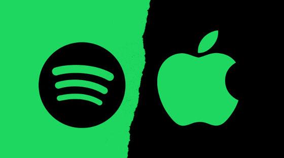 Apple responde a las acusaciones de Spotify