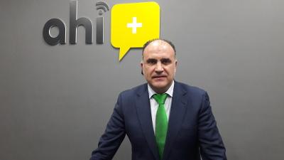 Manuel Hernández, consejero delegado de Ahí+.