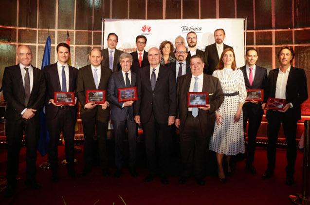 Galardonados de la edición 2019 de los Premios Autelsi