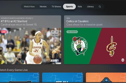 Apple TV+ también ofrecerá deportes.