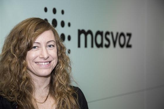 Susana Gutiérrez, directora de operaciones de masvoz.