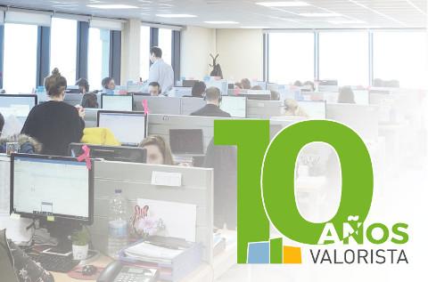 Valorista celebra el décimo aniversario.