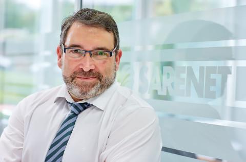 Aitor Jerez, director comercial de Sarenet.