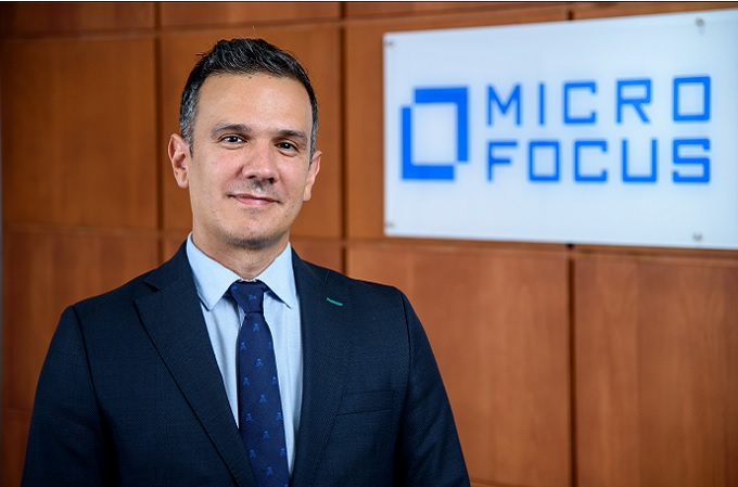 Abel Torrubiano, Country Manager España y Portugal de Micro Focus.