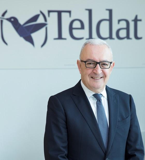 Antonio García Marcos, presidente de Teldat.