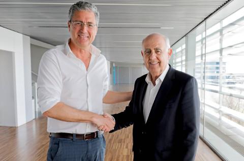 Ignacio Herrero, de Flexygo, Antonio Noblejas, director general de Edem.