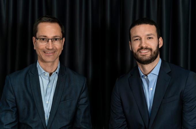 Xavier Sáez, Country Sales Manager, y Andrés Reyes, Territory Manager para España y Latinoamérica de Rydoo.