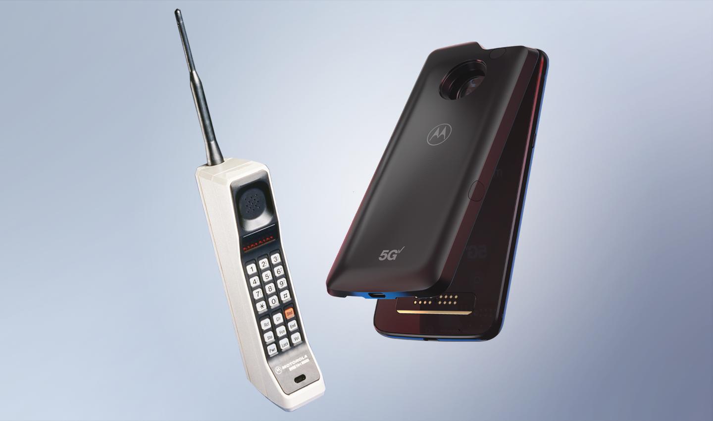 Moto z3, primer teléfono inteligente del mundo en conectarse a 5G.