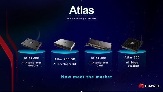 Huawei pone en el mercado Atlas su plataforma de IA.