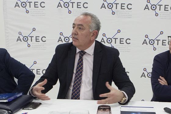 Antonio García Vidal, actual presidente de Aotec.