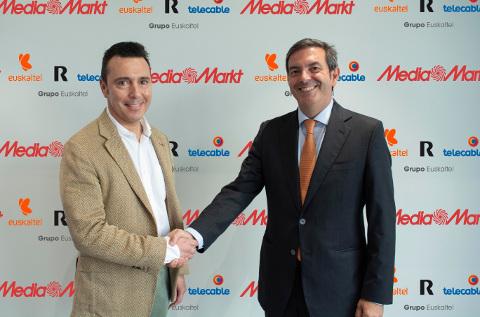 Acuerdo entre MediaMarkt y Euskaltel.