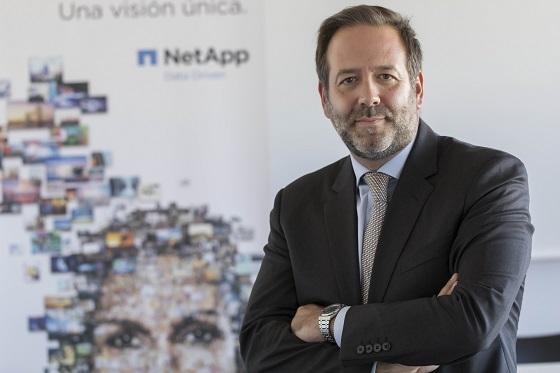 Ignacio Villalgordo, country manager de Netapp