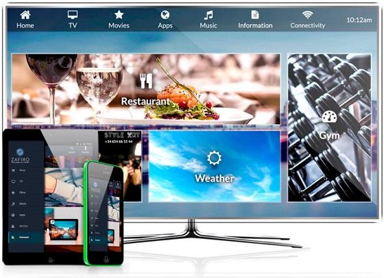 Zafiro IPTV apuesta por la infraestructura inalámbrica para dar servicios de entretenimiento en hoteles