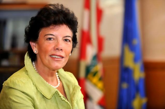 Isabel Celaá, ministra de Educación en funciones.