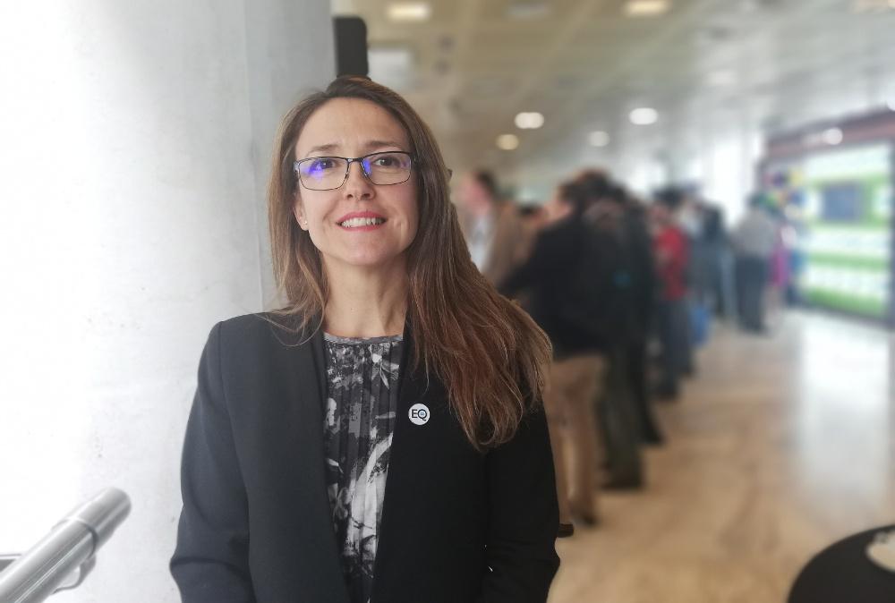 Ana Vertedor, de Salesforce.