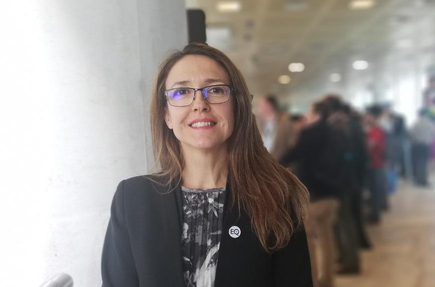 Ana Vertedor, responsable de canal y alianzas de Salesforce Iberia.