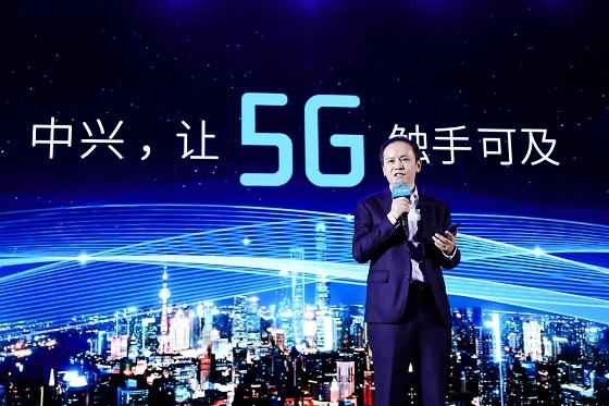 ZTE presenta el primer smartphone 5G en China