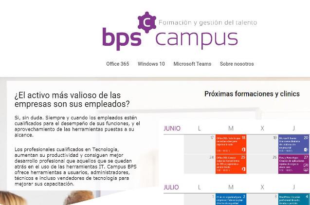 Web de Campus BPS
