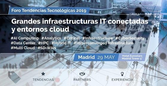 Próximo Foro @asLAN: grandes infraestructuras digitales y entornos cloud.