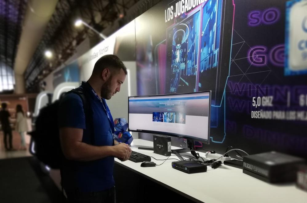 Evento gaming de MCR en 2019.