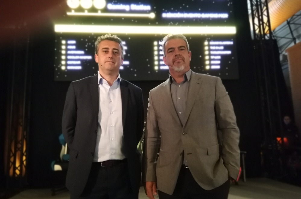 Eduardo Moreno y Pedro Quiroga, de MCR.