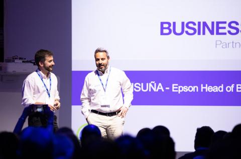 Óscar Visuña, director de la división business de Epson Ibérica