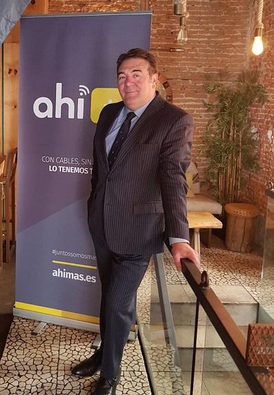 José Carlos Oya, presidente de Ahí+.