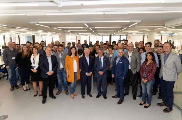 Inauguración de las nuevas oficinas de Ingram Micro Cloud en Santander.