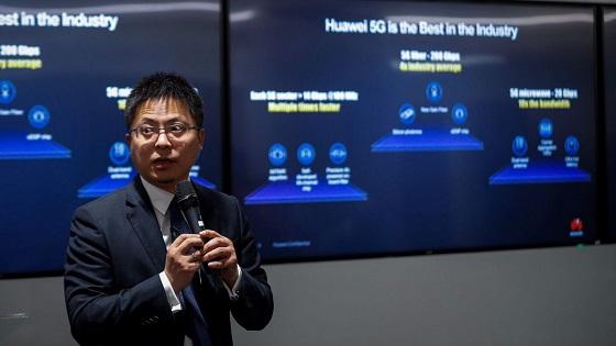 Tony Jin Yong, CEO de Huawei España, durante su 5G Roadshow 2019 de Madrid.