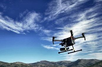 Detección temprana de incendios con drones.