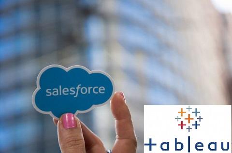 Salesforce compra Tableau.