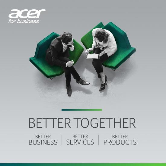 Acer Better Together.
