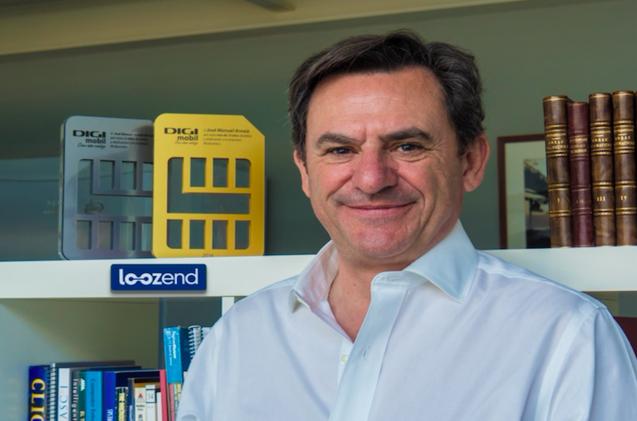 José Manuel Arnaiz, fundador de Loozend