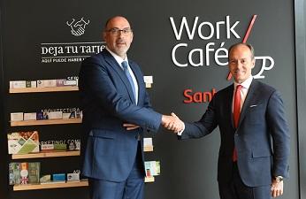 Santander y Telefónica ponen en marcha la primera oficina bancaria 5G de Europa.