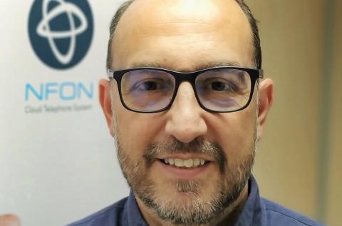 David Tajuelo, director general de NFON Iberia.