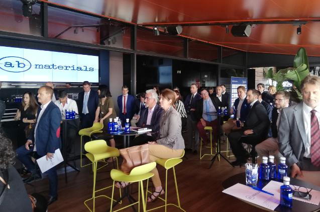 Presentación en Madrid de ab materials, unidad de papelería de MCR.