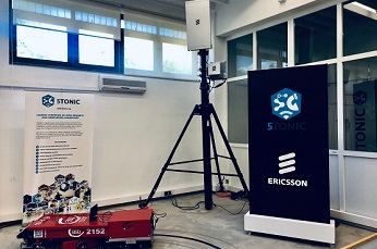 Ericsson activa la tecnología 5G NSA en el laboratorio 5TONIC.