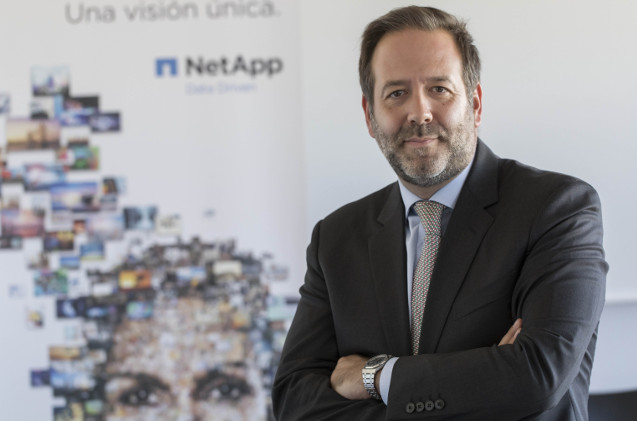 Ignacio Villalgordo, director general de Netapp Iberia