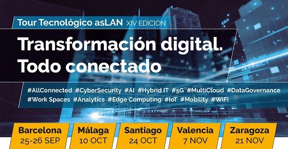 Tour Tecnológico Aslan 2019 comenzará en septiembre en Barcelona.